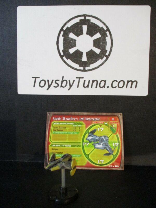 Star Wars Miniatures Starship Battles Anakin Skywalker
