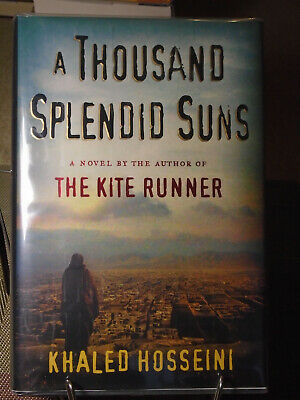 Khaled Hosseini, A Thousand Splendid Suns, Signed, 1st Edition, 1st Printing