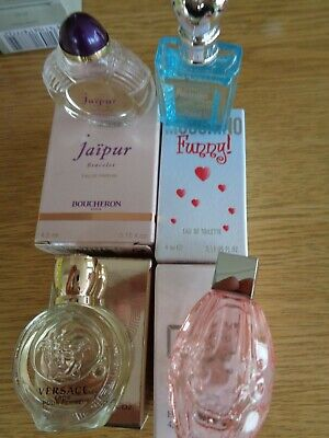 LADIES PERFUME MINIS VIKTOR & ROLF JIMMY CHOO MOSCHINO BOUCHERON - NOT SAMPLES