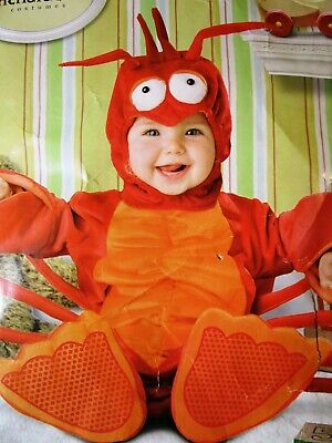 Lobster Costume Baby (🦞 Baby LIL' LOBSTER Costume New * CUTE PHOTOS * 12 - 18 Months (23-27 lbs.))