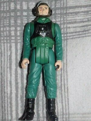 Vintage Kenner STAR WARS A-Wing Pilot LAST 17 Figure (NO WEAPON)