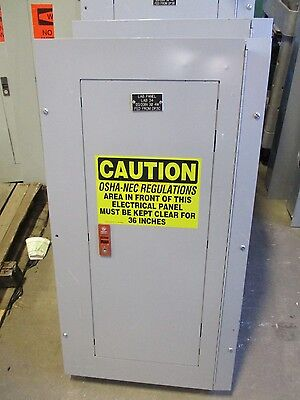 Ge Thqb32100 Main Breaker 120 208 Volt 36 Circuit Panelboard  E2020