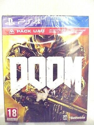 Doom - Pack UAC - Playstation PS4 - Neuf sous blister