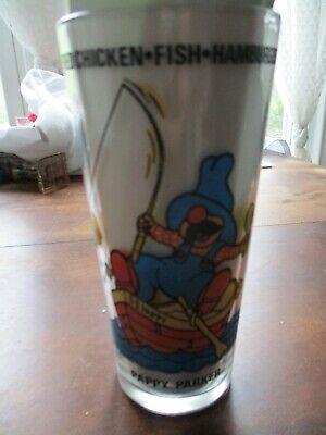PAPPY PARKER CARTOON GLASS JR HOT SHOPPES EXCELLENT CONDITION *RARE*!!
