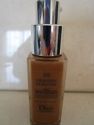 CHRISTIAN DIOR DIORSKIN FOREVER FLAWLESS PERFECTION MAKEUP # 050 0.67 OZ MINI