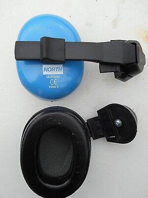 North- Cap Mounted Hearing Protectors Nr22 Pair Mustang Em4157