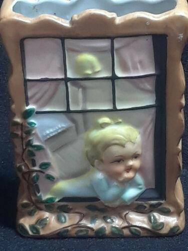 Girl in Window Wall Pocket (japan)