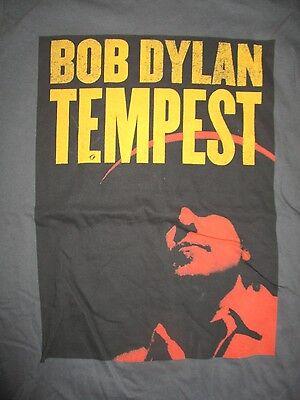 "Retro BOB DYLAN ""Tempest""  Concert Tour (SM) T-Shirt"
