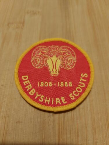 UK Scouting Derbyshire Scouts 80th Anniversary 1908 - 1988