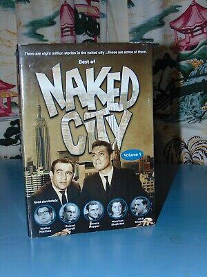 NAKED CITY **5*DVD **  BEST OF **20 EPISODES VOLUME