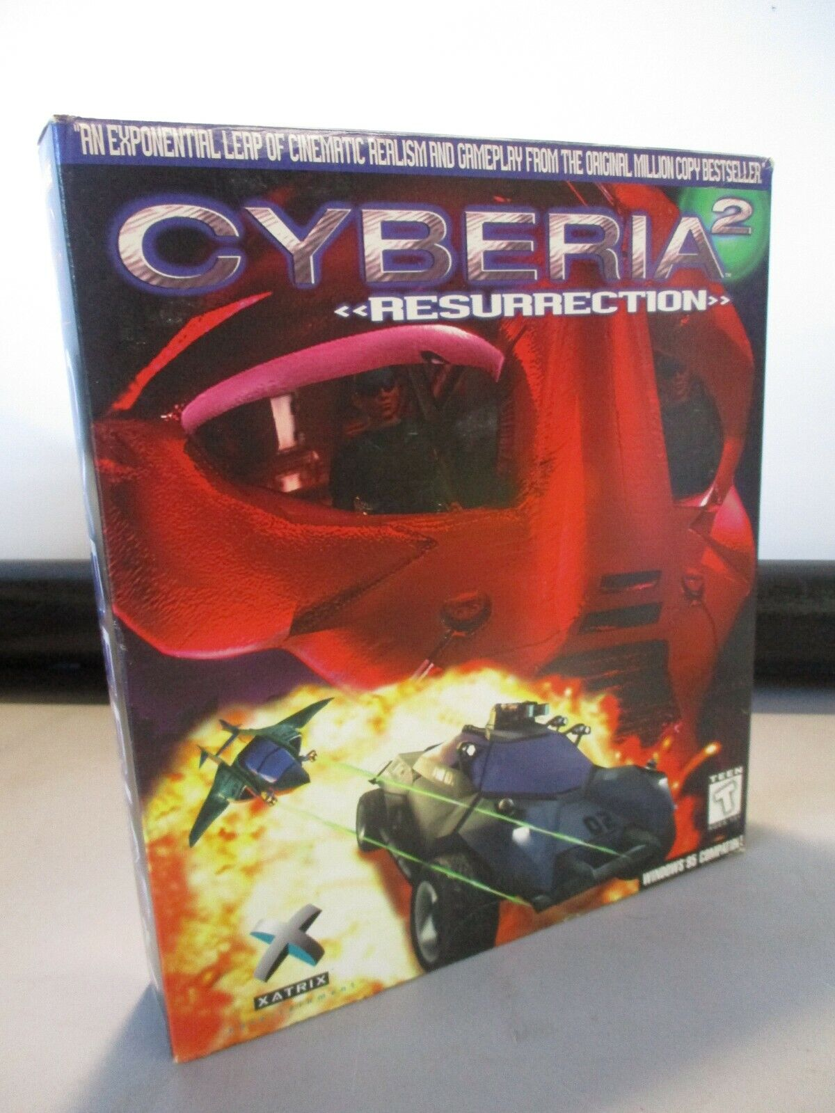Computer Games - VINTAGE PC COMPUTER GAME CD ROM XATRIX CYBERIA 2 RESURRECTION GAME IN BOX