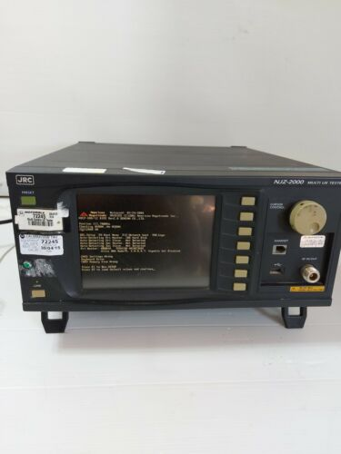 JRC NJZ2000 Radio Communication Analyzer