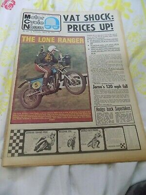Motor Cycle news/28,3,1973/Imola G.P./BSA Story/Daytona/Moto-Cross 73/