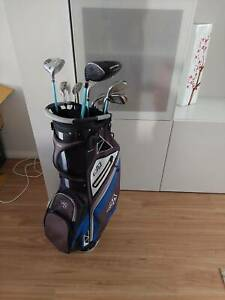 Ladies Golf Clubs and bag.