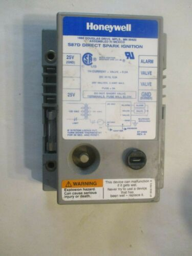 USED!!! Honeywell S87D Direct Spark Ignition Module Control