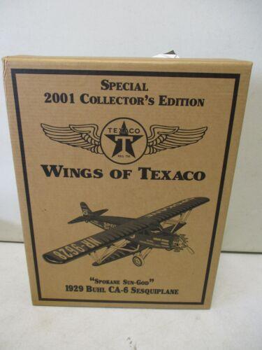 2001 Texaco Wings of Texaco 1929 Buhl CA-6 Sesquiplane 9/15