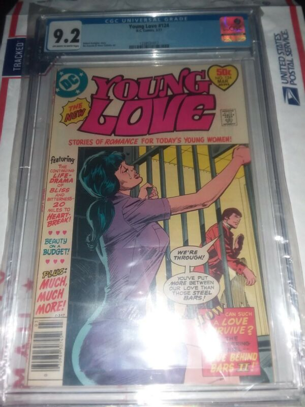 Young Love (DC) #124 1977 CGC 9.2 rare low pop