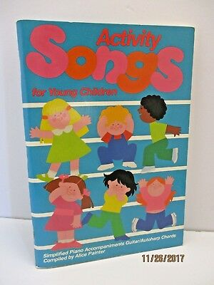 Activity Songs For Young Children by Alice Painter Christian Bass Guitar