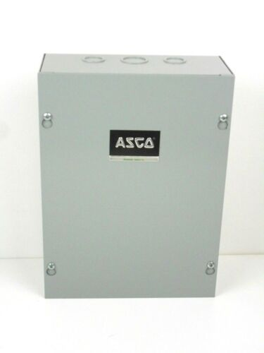 Asco Lighting Contactor  91742071C 2 Pole 28 Amp 265-277 Coil With Enclosure