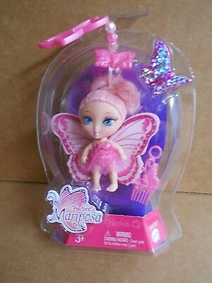 2007 BARBIE...MARIPOSA..CLIP ON...PINK -