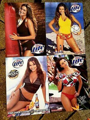 4 Sofia Vergara Sexy Miller Beer Posters