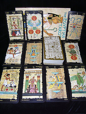 BRAND NEW & SEALED! EGYPTIAN TAROT CARD & BOOK ORACLE ANCIENT WISDOM & MAGIC