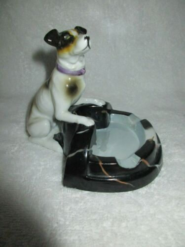Dog Ash Tray Made in Japan