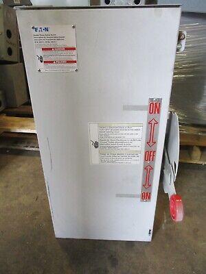 Cutler Hammer Dt321urk 30 Amp 240v 3 Nema 3r Double Throw Switch -ats335