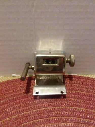 Knitting Machine Row Counter