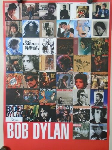 """Bob Dylan / Orig. 2 sided Promo Poster  """"Love & Theft"""" Exc. New cond. 24 x 36"""""""