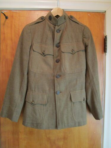 WW1, c 1918, US National Army Jacket, Enlisted, Signal Corps, Winter Uniform