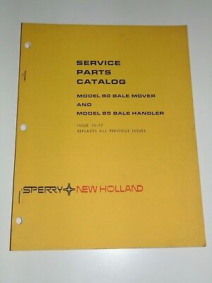 New Holland Service Parts Catalog Model