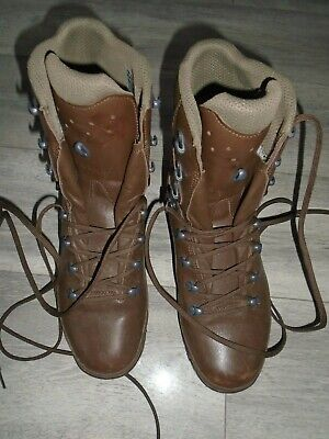 HAIX MENS COLD WET WEATHER BOOTS SIZE 9M BRITISH ARMY ISSUE