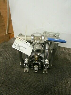 Wilden Pump-1 01-10754 Px1ssaaatnutfstf 12 Diaphragm Stainless Fluid Side