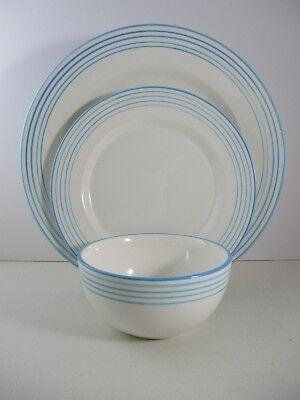 AZULINA LINEA -AQUA- DINNER PLATE, SALAD PLATE, CEREAL BOWL - 1204C Aqua Salad Bowl
