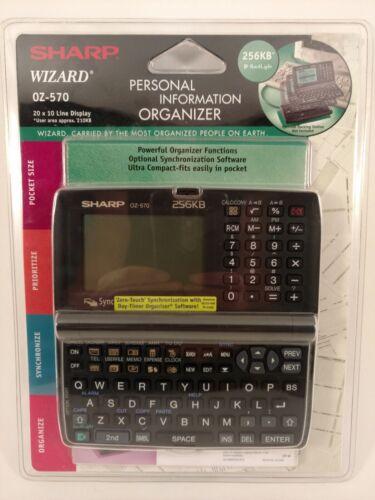 Sharp Wizard Personal Information Organizer Model: OZ-570 Brand New