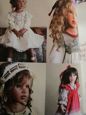 4pg Zofia Zawieruszynski DOLL History Article CHILDHOOD MEMORIES/ Deb Weissler for sale  Shipping to Canada