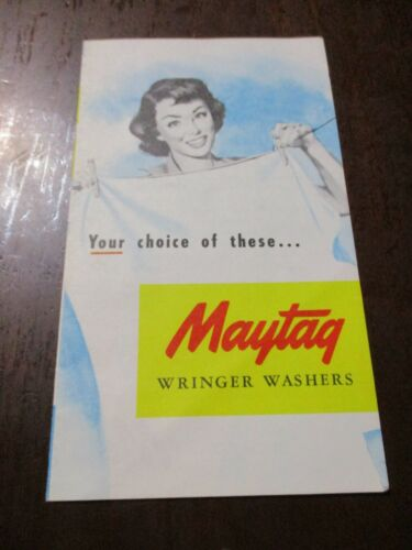 Maytag/Philco Wringer/Washers brochures 4 items