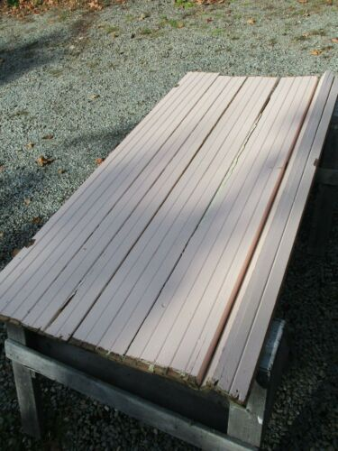 Vintage Wainscoting Wall Panels, Tongue & Groove ~ SALVAGED  MAINE 23-ROOM INN!
