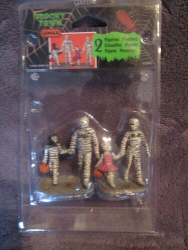 Halloween Lemax Spooky Town, Trick Or Treating With Mummy & Deady - 2016  NEW