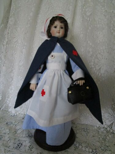 "15"" French Fashion doll Nurse Uniform"