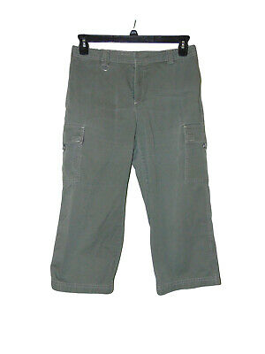 Dockers Green Cargo Green Pants 10 Petite