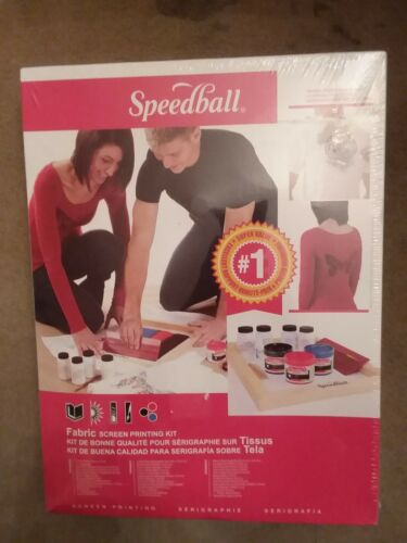 Speedball Art Products # 4526 Fabric Screen Printing Kit