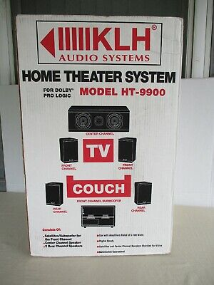 Vintage KLH HT9900 home theater system