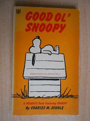 Schulz , Charles M. Good ol' Snoopy Cartoons 1971 Coronet english