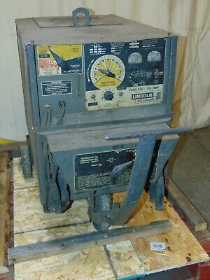 Lincoln Electric Idealarc Dc-400 Arc Welder 400 Amp Power Supply 100 Duty Cycle