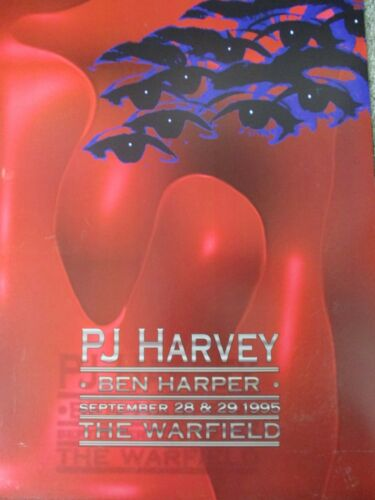 PJ HARVEY WARFIELD POSTER Ben Harper  ORIGINAL BILL GRAHAM BGP131 Craig Howell