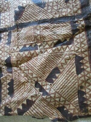 Vintage, pre-owned TAPA bark cloth. Sold as is condition. Approx. 4 ft. x 3 ft.