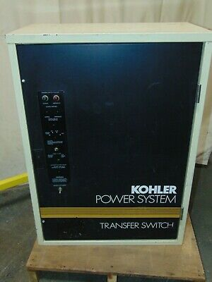 Kohler Non-automatic Transfer Switch 208 Volt 3 Phase 4 Wire 3 Pole