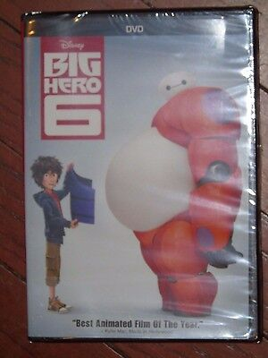 Brand NEW Disney Big Hero 6 Movie DVD Bonus Extras Film French English Spanish
